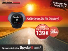 Upgrade auf Spyder5ELITE+ diesen Sommer verfügbar
