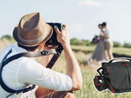 Für Hochzeitsfotografen: Tragelösungen und Lichtformer