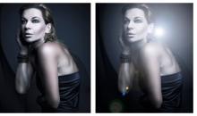 Photoshop: Mit Blendenfleck zum Blitzlichtgewitter