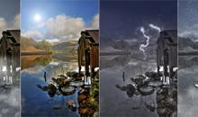 Photoshop: Wettergott Photoshop