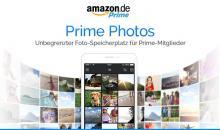 Amazon Prime-Mitglieder erhalten unbegrenzten Speicherplatz für Fotos in der Cloud