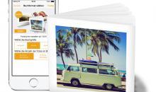 clixxie Fotobuch-App im Quadrat