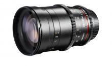 Walimex pro 135mm Teleobjektiv mit Lichtstärke 1:2,0 und 1:2,2