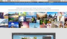 Adobe startet Online-Dienst für Stock-Fotos
