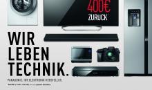 Cashback: Mit der Lumix von Panasonic bis zu 200 € sparen