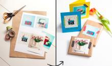Mit eigenen Fotos Geschenke verzieren