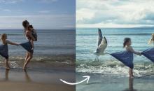 Kreative Fotomontage in Photoshop: Urlaub am Strand