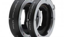 Standardobjektive an Sony E-Mount Kameras werden mit Extension Tube Set von Kenko makrofähig