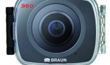 Braun Champion 360: Actioncam mit Virtual Reality