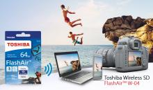 CeBIT 2017: Toshiba präsentiert neue FlashAir-Wireless-SD-Karte