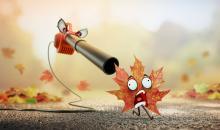 Angriff der Laubbläser - die #AdobeStockHerbst17 - Challenge von FOREAL