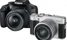 Canon EOS 2000D und Fujifilm X-A5 im Vergleichstest