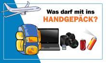Handgepäck für Fotografen - Was darf mit?