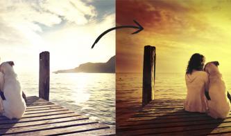 Analogen Bildlook in Photoshop nachbauen: Redscale-Effekt