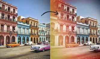 Analoger Bildlook mit Photoshop: Light Leaks, Staub & Kratzer