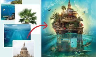 Traumhafte Fantasiewelten aus Ihren Urlaubsfotos
