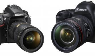 Canon EOS 5D Mark IV vs. Nikon D810