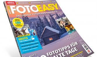 FotoEASY 1/2017: 180 Seiten Praxis-Wissen für Foto-Einsteiger – jetzt im Handel!