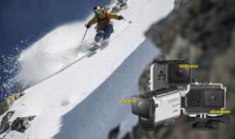 Volle Fahrt voraus: 7 Action-Cams im Vergleichstest