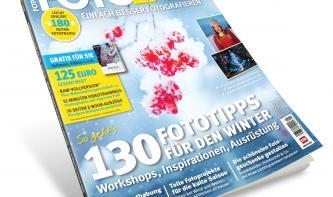 130 Fototipps für den Winter - Die neue FotoEASY-Ausgabe 1/18 ist da!