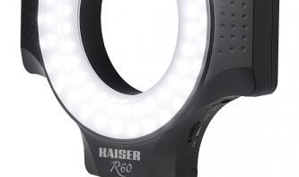 Deal: Kaiser Fototechnik LED-Ringleuchte R60 zum Aktionspreis