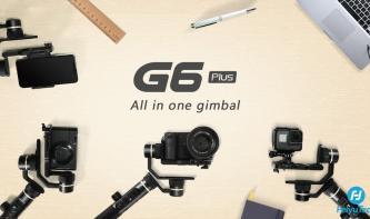 Neues All-in-One Gimbal von FeiyuTech: G6 Plus