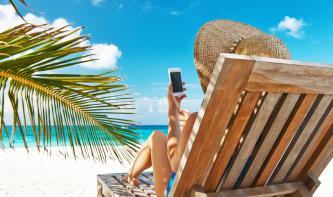 Drei Foto-Apps im Test: Fotos bestellen am Strand