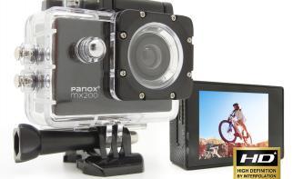 Bei uns im Shop: Die handliche Actioncam Panox MX200